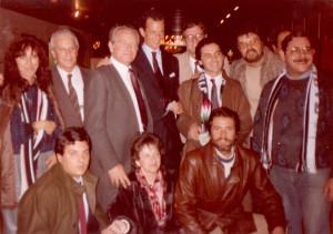 Tokyo 1985: con Boniperti ed Edoardo Agnelli
