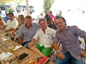 A Stoccarda con Bernd Forster e Maurizio Gaudino