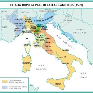 litalia-dopo-la-pace-di-cateau-cambrc3a9sis-1559